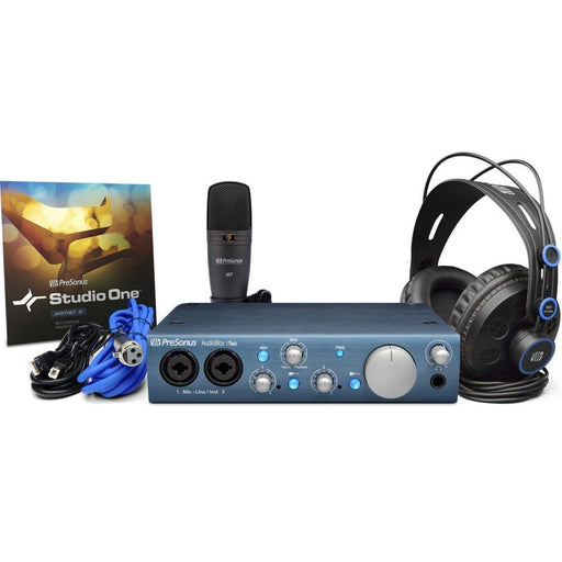 Presonus Audiobox iTwo Studio Bundle - Music Junkie