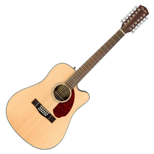 Fender CD-140SCE 12-String Electro Acoustic Natural with Case - Music Junkie