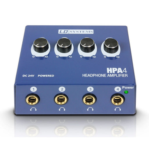 LD Systems HPA4 4-Channel Headphone Amp - Music Junkie