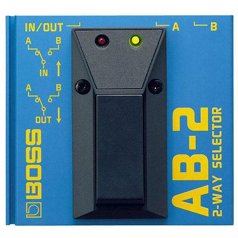Boss AB-2 A/B Footswitch Selector Pedal - Music Junkie
