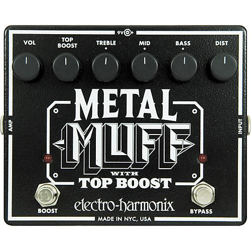 Electro Harmonix Metal Muff Distortion Pedal - Music Junkie