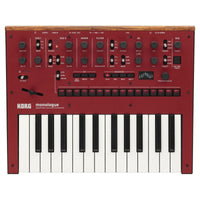 Korg Monologue Synth Red - Music Junkie
