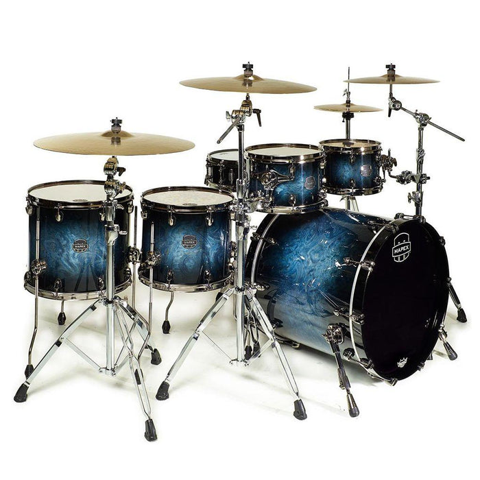 Mapex SV628XUB Saturn V Soundwave Twin Shell Pack Deep Water - Music Junkie