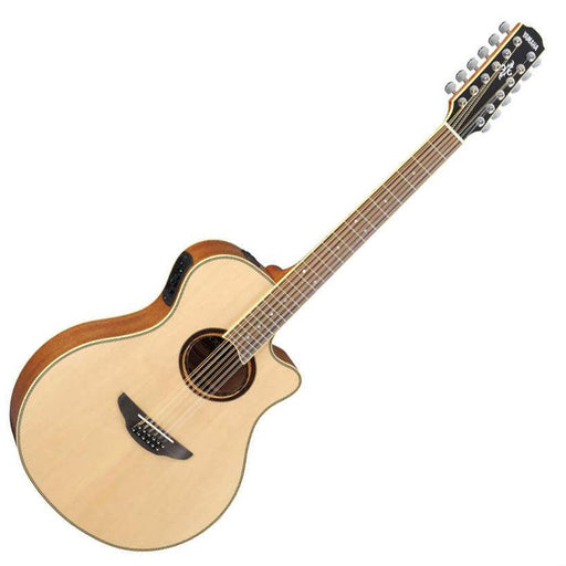 Yamaha APX700II 12 String Electro Acoustic Natural - Music Junkie