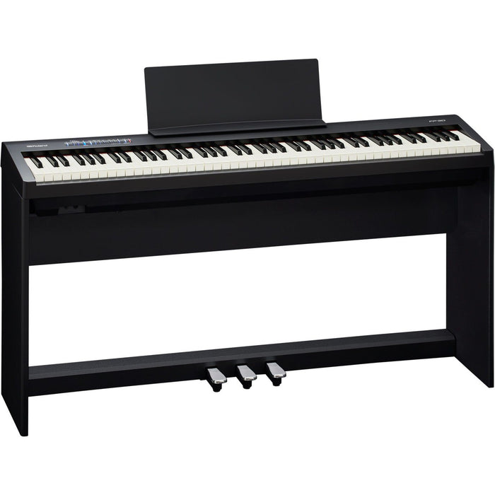 Roland FP-30 88-Note Digital Piano Black - Music Junkie