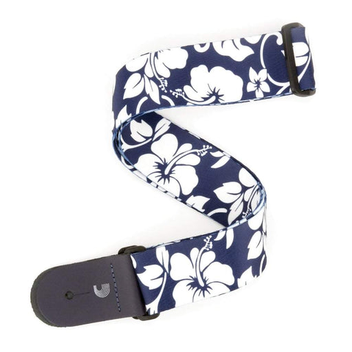 Planet Waves Guitar Strap Hibiscus Blue - Music Junkie