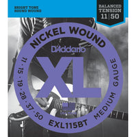 D'addario EXL115BT Balanced Tension Electric Strings 11-49 - Music Junkie