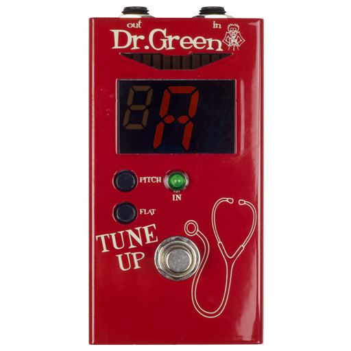 Dr. Green Tune Up Tuner Pedal - Music Junkie