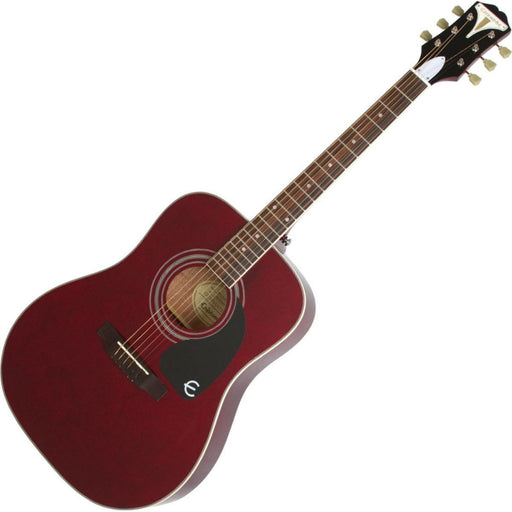 Epiphone Pro 1 Plus Acoustic Guitar Wine Red - Music Junkie
