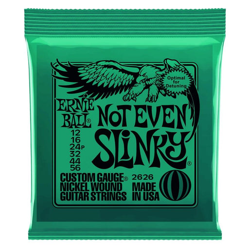 Ernie Ball Not Even Slinky Electric Guitar Strings 12-56 - Music Junkie