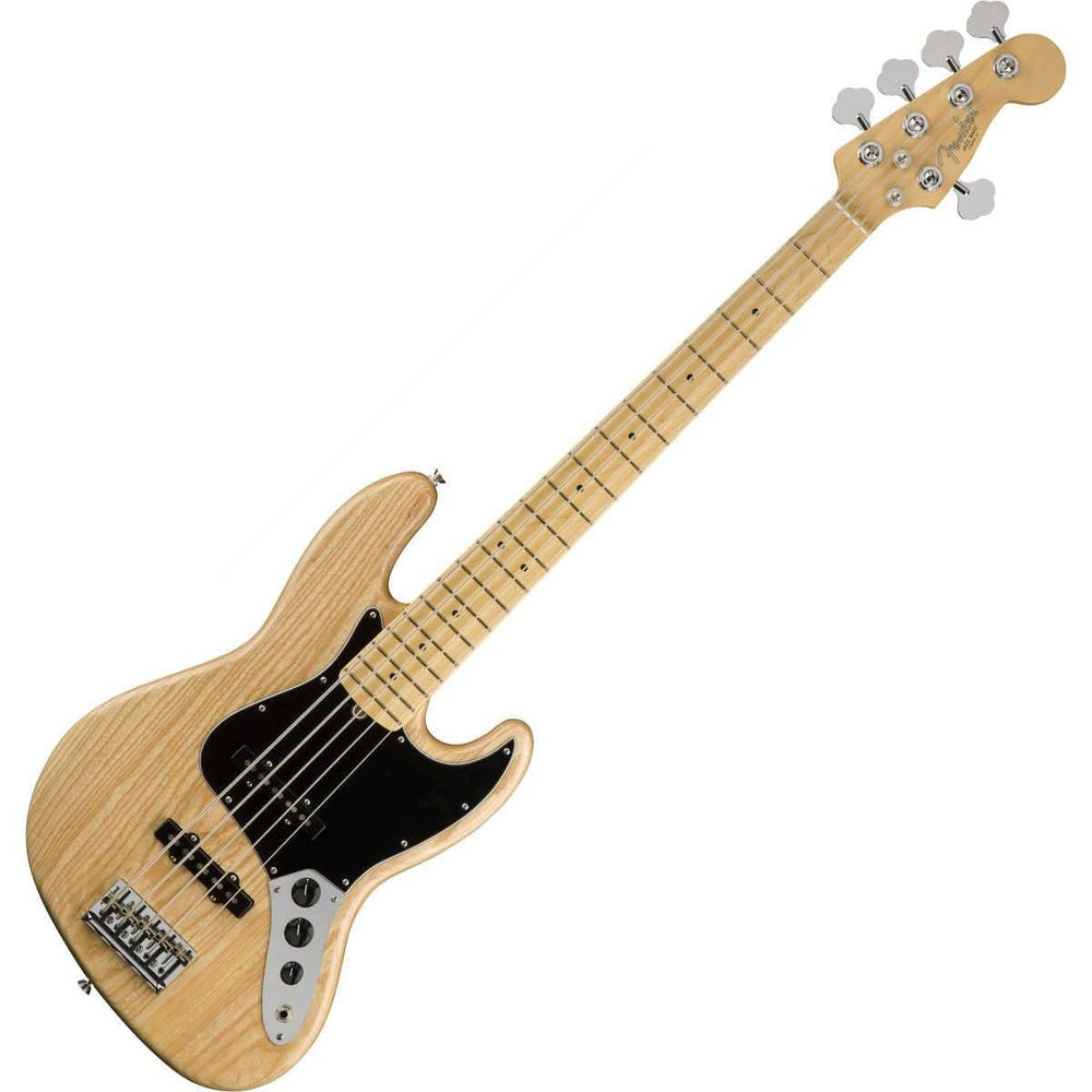 Fender American Pro Jazz Bass V Natural MN - Music Junkie