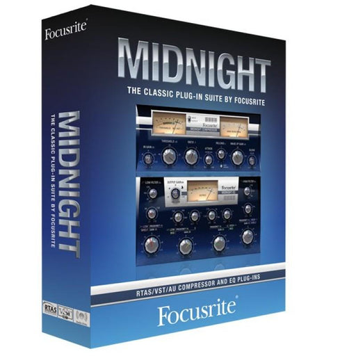 Focusrite Midnight Modelling VST Effects Plug-in Software - Music Junkie