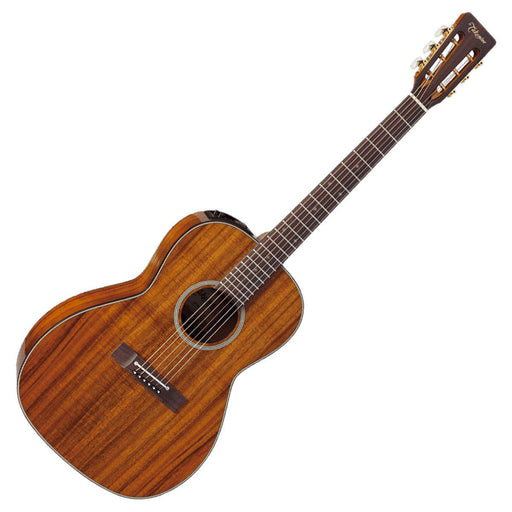 Takamine EF407 Koa New Yorker Electro Acoustic Guitar Natural - Music Junkie