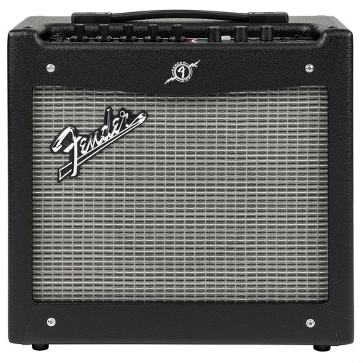 Front view of Fender Mustang I V2 Guitar Amp
