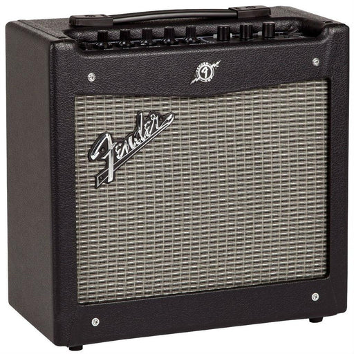 Side profile of Fender Mustang I V2 Guitar Amp