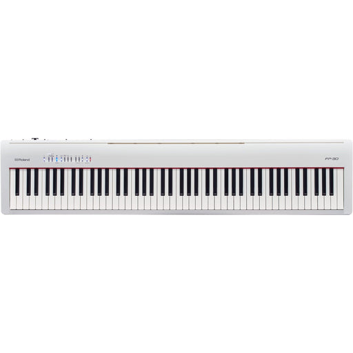 Roland FP-30 88-Note Digital Piano White - Music Junkie