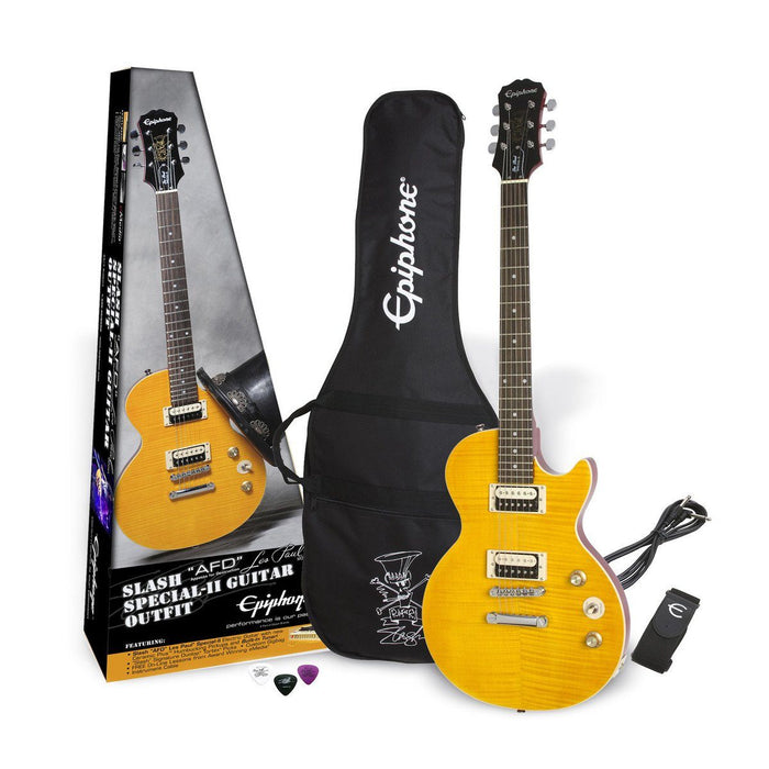 Epiphone Slash 'AFD' Les Paul Special II Electric Guitar Outfit - Music Junkie