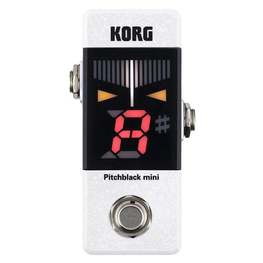 Korg PitchBlack Mini Pedal Tuner White - Music Junkie