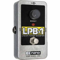 Electro Harmonix LPB-1 Linear Power Booster Guitar Effects Pedal - Music Junkie
