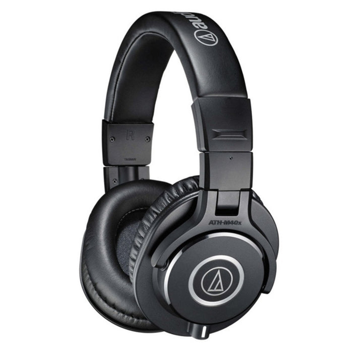 Audio Technica ATH-M40X Professional Studio Headphones - Music Junkie