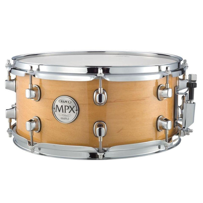 Mapex 13x6 Snare Drum Maple Shell Gloss Natural - Music Junkie