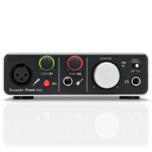 Focusrite iTrack Solo Lightning Audio Interface - Music Junkie