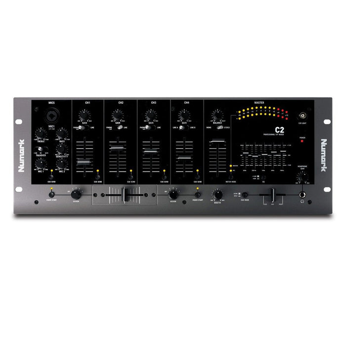 Numark C2 Four Channel 19 Inch Rack Mixer - Music Junkie