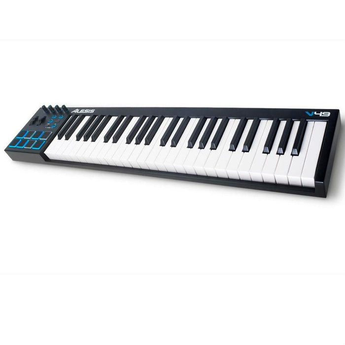 Alesis V49 USB MIDI Keyboard Controller with 49 Keys - Music Junkie
