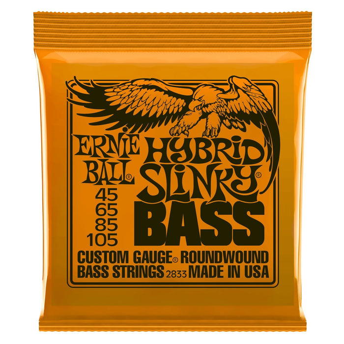Ernie Ball Hybrid Slinky Bass Guitar Strings 45-105 - Music Junkie