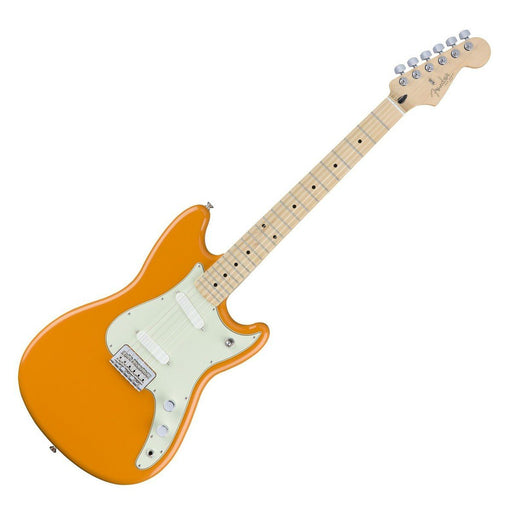 Fender Duo-Sonic Capri Orange Maple Neck - Music Junkie