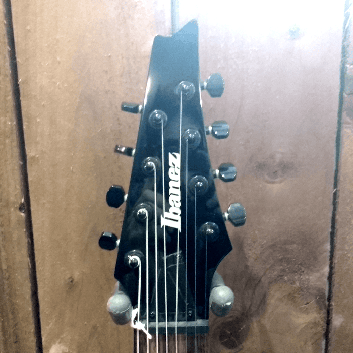 Image 3 of Ibanez RG8-BK 8 string Guitar Black