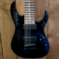 Image of Ibanez RG8-BK 8 string Guitar Black