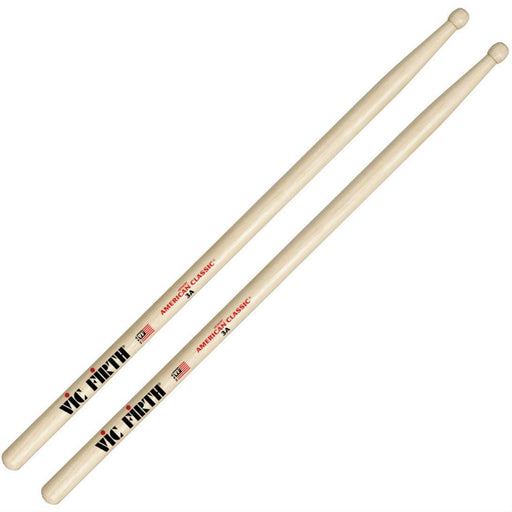 Vic Firth American Classic 3A Wood Tip Drumsticks - Music Junkie