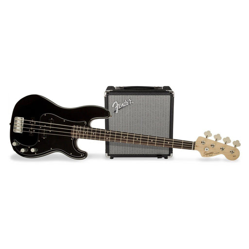 Squier Affinity PJ Bass Pack Black - Music Junkie