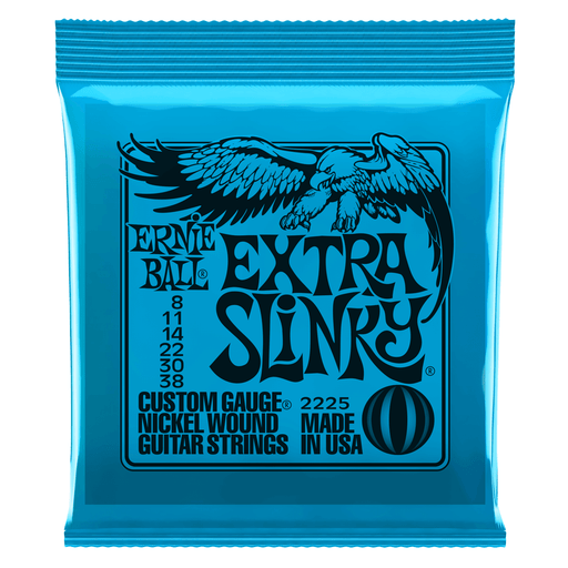 Ernie Ball Extra Slinky Electric Guitar Strings 8-38 - Music Junkie