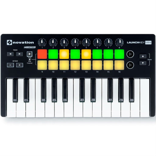Novation Launchkey Mini MK2 USB Controller Keyboard - Music Junkie