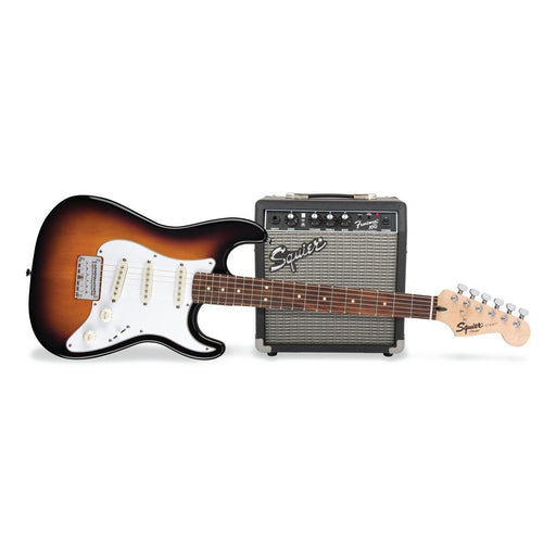 Squier Short Scale Strat Pack Sunburst - Music Junkie