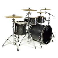 Mapex SV529XEB Saturn V Subwave Shell Pack Flat Black Maple - Music Junkie