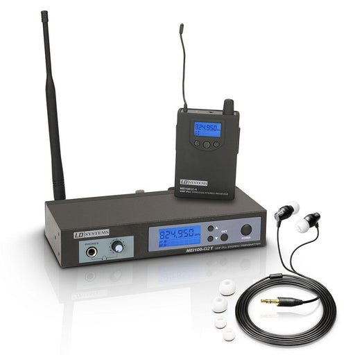 LD Systems MEI 100 G2 In Ear Monitoring System - Music Junkie