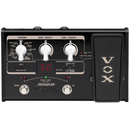 Vox StompLab 2G Guitar Multi Effects Pedal - Music Junkie