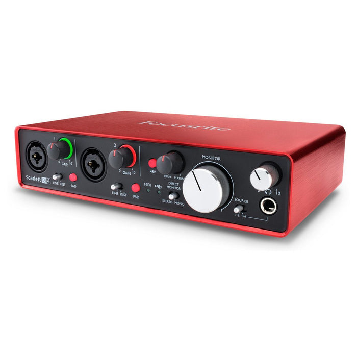 Focusrite Scarlett 2i4 2nd Gen USB Audio Interface - Music Junkie