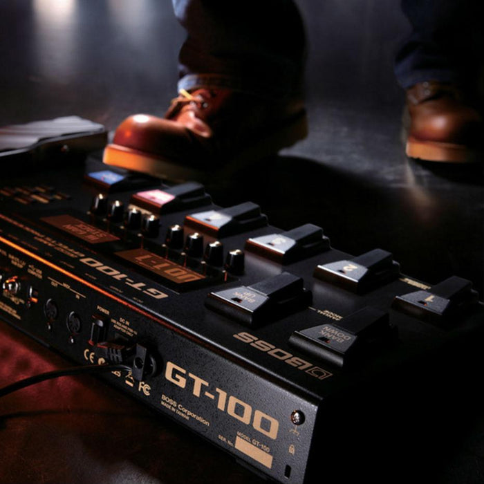 Boss GT-100 Effects Processor With Amp Modelling - Music Junkie
