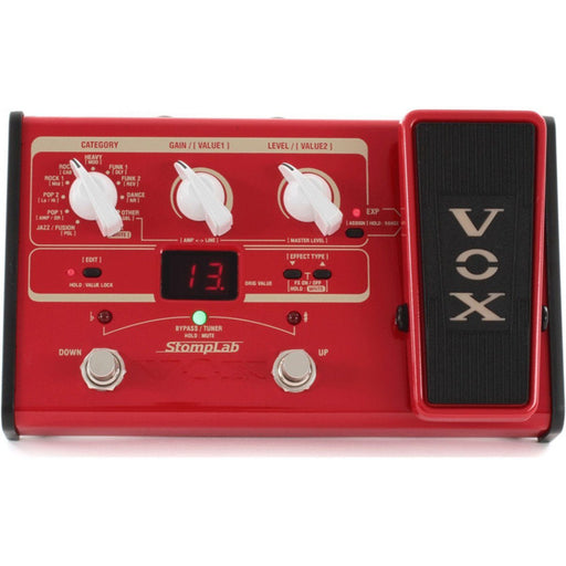 Vox SL2B StompLab 2 Bass Effects Pedal - Music Junkie