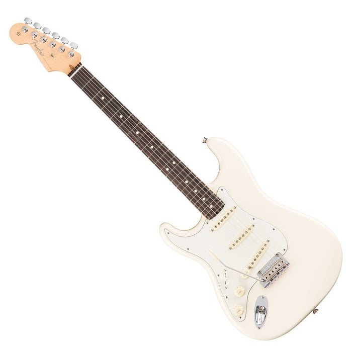 Fender American Pro LH Strat Olympic White RW - Music Junkie