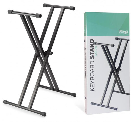 Stagg KXS-A6 Double Braced Keyboard Stand - Music Junkie