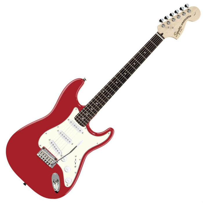 Squier Standard Stratocaster Candy Apple Red Rosewood - Music Junkie