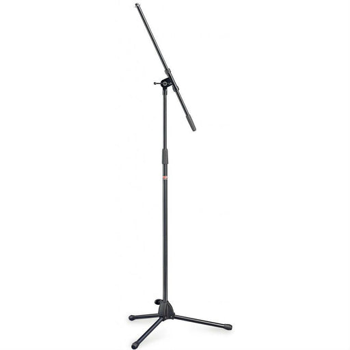 Stagg MIS-0822BK Microphone Boom Stand Black - Music Junkie