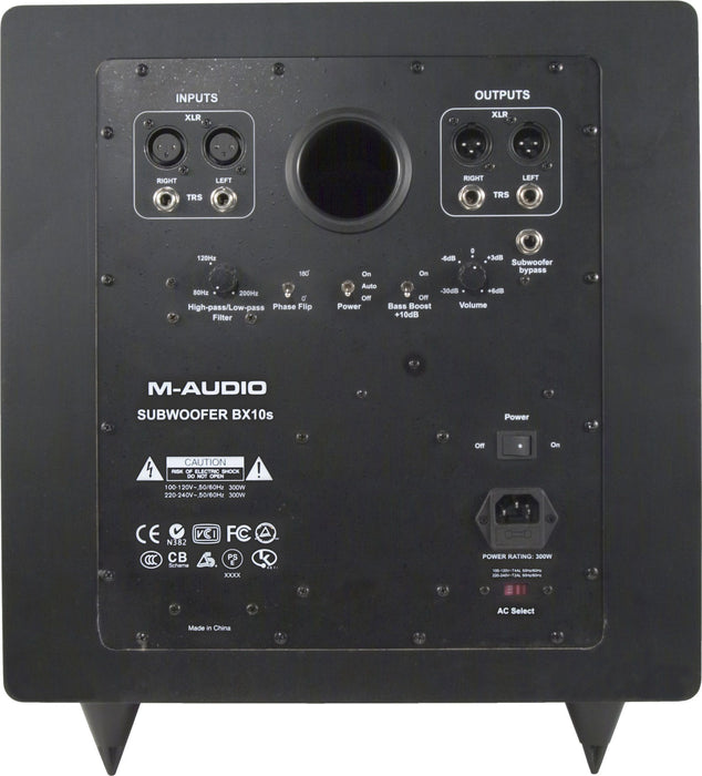 M-Audio BX Subwoofer Premium Active Studio Subwoofer - Music Junkie