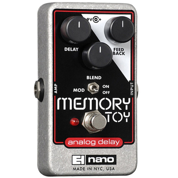 Electro Harmonix Memory Toy Analog Delay / Chorus Effects Pedal - Music Junkie