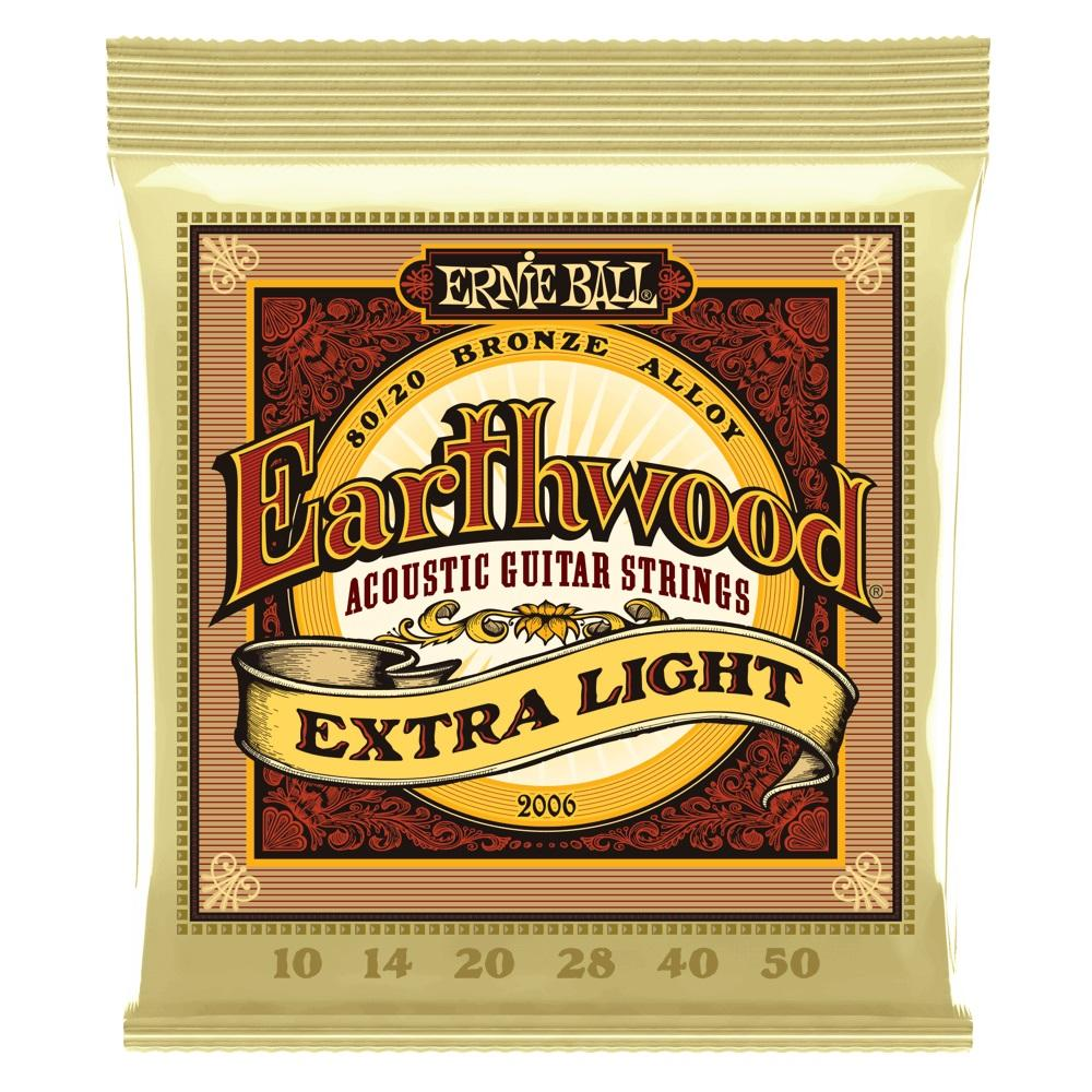 Ernie Ball Earthwood Acoustic Strings Extra Light - Music Junkie